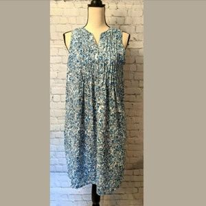 GAP Womans Floral Lined Dress Size SMALL PETITE